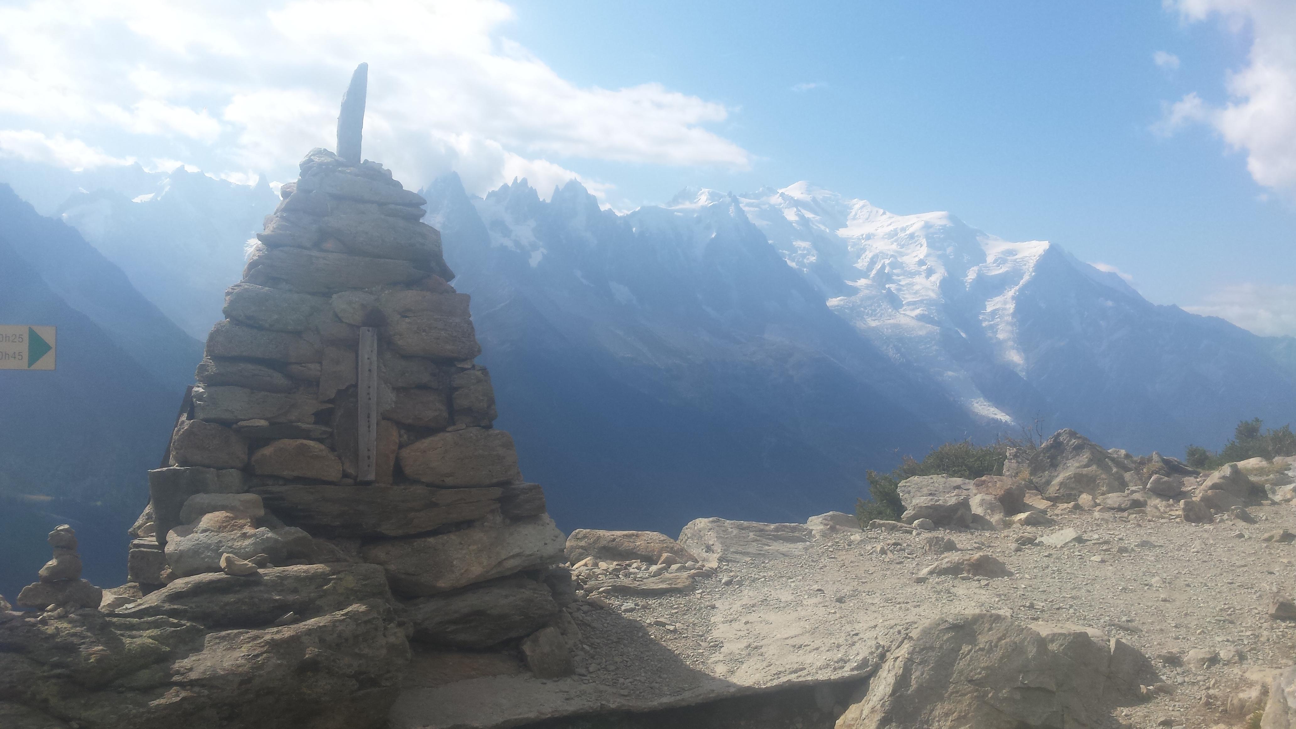 Running the Tour Du Mont Blanc