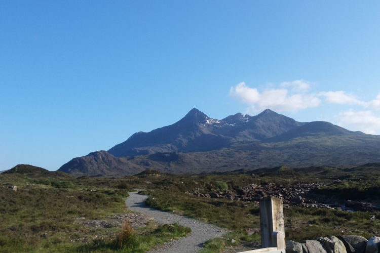 The Cuillin Ridge, the hardest, most committing mountaineering route in the UK